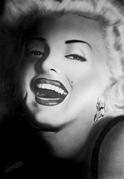 Marilyn Monroe por GeorgeManasseh